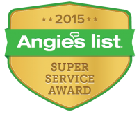 Angies list - Super Service Award (2015)
