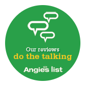 Our reviews do the talking - Angies list